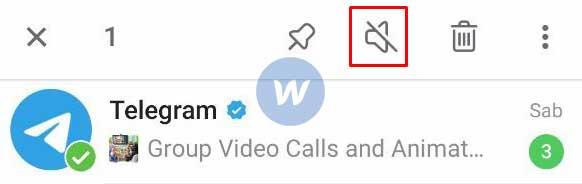 Matikan Notifikasi Channel Atau Grup Telegram